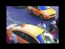 Таксист в центре Москвы сбил толпу болельщиков 16.06.2018