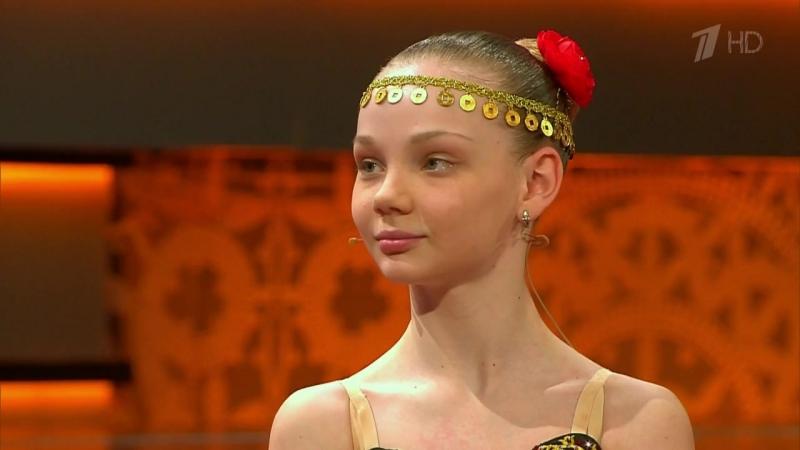 Целеустремленная балерина Владлена Тингайкина
