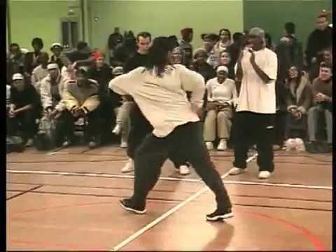 Juste Debout 2002 - Hip hop final - Rabah Didier vs Rickysoul Erwann