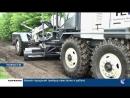 В Коркино новую коммунальную технику направили в район старого строительства для грейдирования дорог