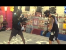 15-year old Amatuer Boxing champion vs Pro UFC fighter Go to WAR in Sparring!