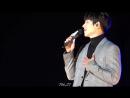 Чжи Чан Ук на фан-митинге в Сеуле исполняет песню To the butterfly