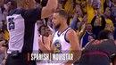 Stephen Curry's Buzzer Beater As Heard Around The World NBANews NBA NBAPlayoffs Warriors StephenCurry
