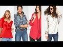 МОДНОЕ ЛЕТО ДЛЯ ВСЕХ 2018 ЭЛЕГАНТНЫЕ БЛУЗКИ 🌼 ЛЕТО🌼 тенденции моды