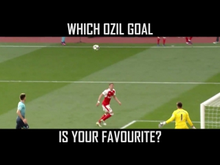 Mesut zil top-five goals for us are absolute