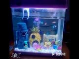 Аквариум Comic SpongeBob Squidward Ананасовое отверстие