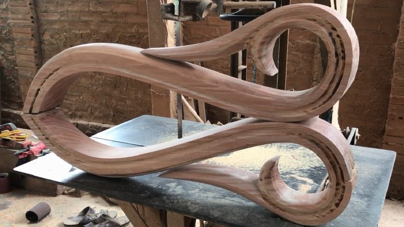 Amazing Techniques Smart Woodworking Skillful - Building And Making New Designs Parts For Stair