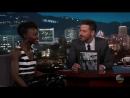 Люпита Нионго на шоу Джимми Киммел в прямом эфире 02 02 2018 Отрывок 3