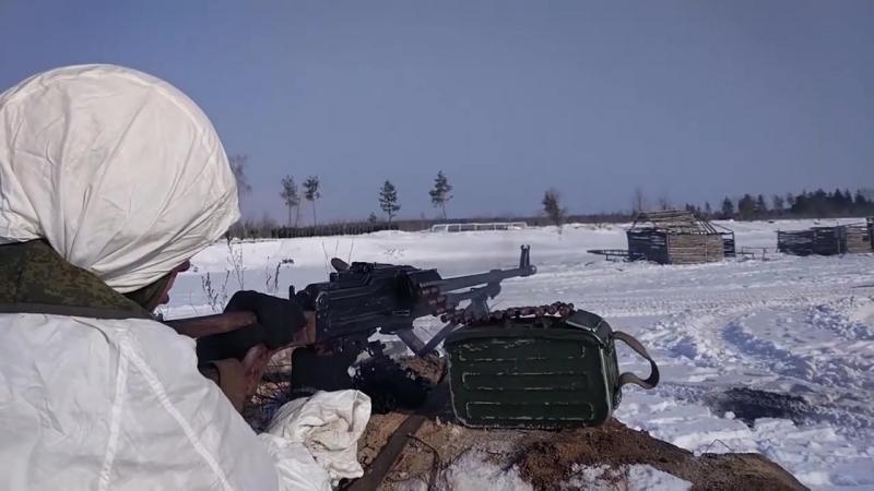 Отработка тактики ударно-огневых контуров на больших дистанциях на полигоне Погоново АрмияРоссии