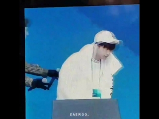 [Фанкам] 180219 Фокус на Уёна @ 2018 PyeongChang Winter Olympic Headliner Show - Rehearsal