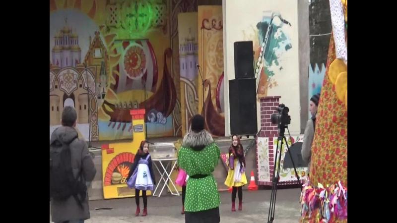 Парк КиО им.М.горького.Танцевальная веранда.Широкая масленица-2018.(Концерт).