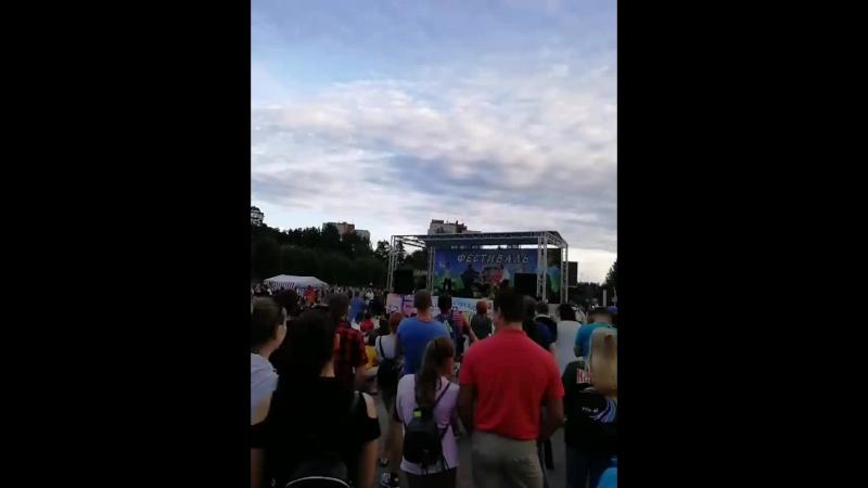 Фестиваль КВН СосновыйБор 45лет команда СтаницаБрюховецкая Праздник78
