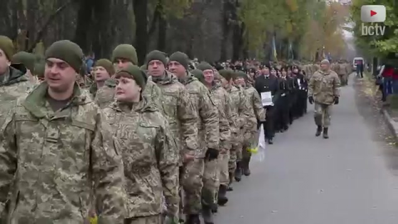 Грандіозна зустріч 72 бригади у Білій Церкві