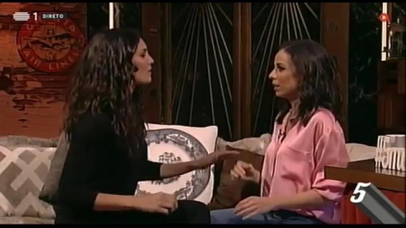 Filomena Cautela e Daniela Ruah trocam bofetadas | 5 Para a Meia-Noite | RTP
