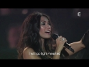 Cesse La Pluie LIVE Anggun with English subtitles mp4