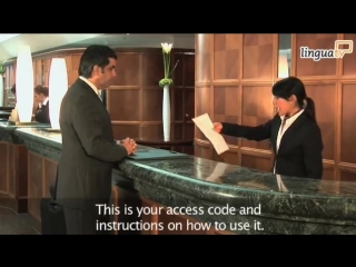 English for Hotel and Tourism Checking into a hotel / Английский для туристов