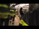 В Нью-Йорке пассажир метро покурил под поездом