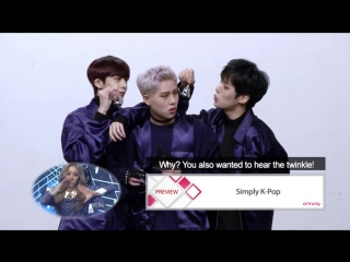 VK Simply K-Pop Preview With MONSTA X