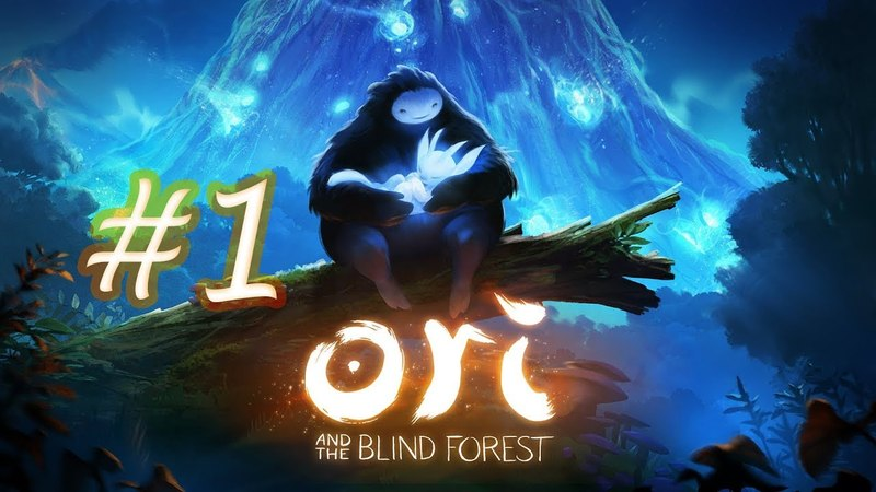 Грустное начало(!(Прохождение Ori and the Blind Forest 1)