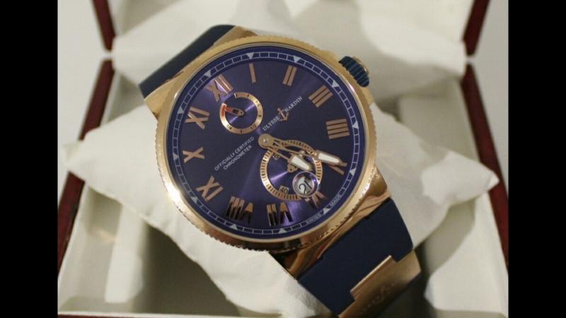 Механические часы Ulysse Nardin Chronometer
