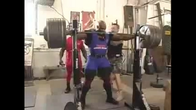 Ronnie Coleman - 800 lbs or 363 kg