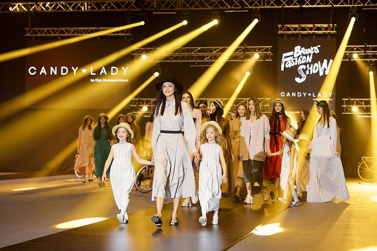 показ бренда Candy Lady - Brands Fashion Show