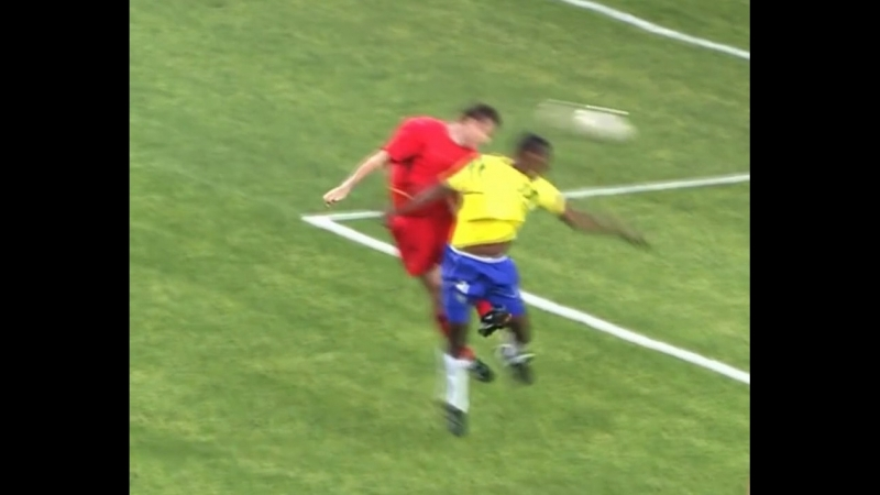 Gol anulado da Bélgica na copa de 2002