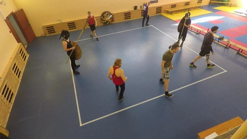 турнир Весна 2018 щит-копье Шамаев - Варченко