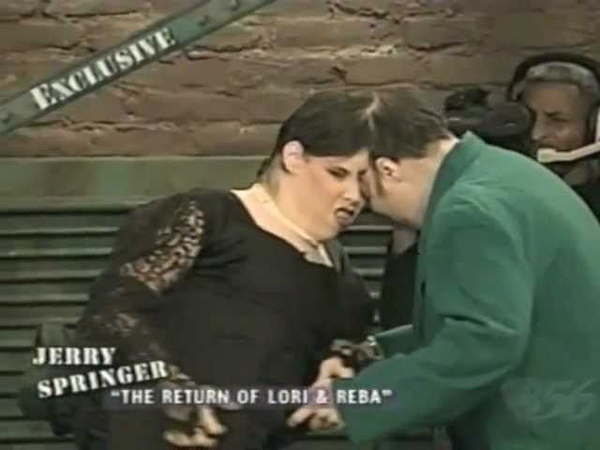 Lori and Reba Schappell on Jerry Springer Part 2 of 6