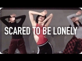 1Million dance studio Scared To Be Lonely - Martin Garrix & Dua Lipa / Lia Kim Choreography