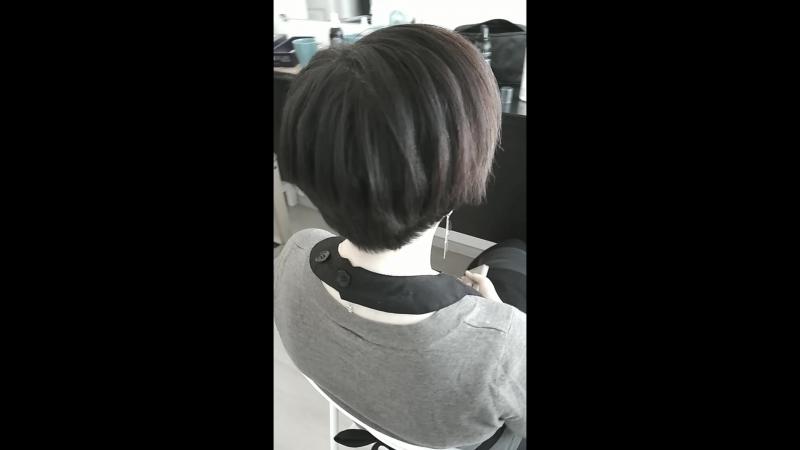 Укладка на короткие волосы от Devushkina Olga