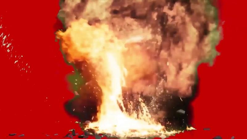 크로마키 소스 chroma key source 폭탄 bomb 22
