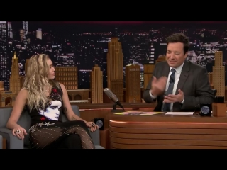 """Miley Cyrus Reveals Why She Opened Tonight Show with Didos """"No Freedom"""""""