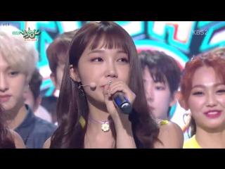 180713 KBS2 뮤직뱅크 - - 1위 소감 - - Apink 에이핑크 1도없어
