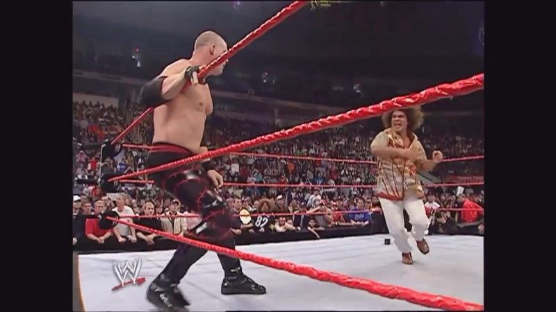 Kane Attacks Carlito Raw 2006