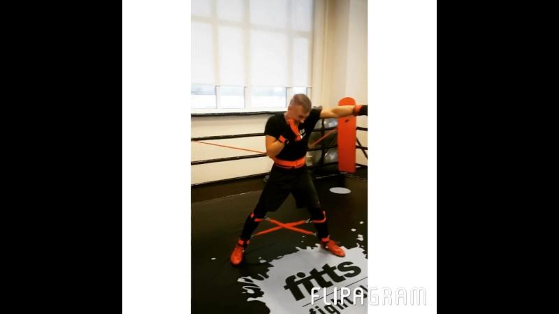Тренажер BAND4POWER Fight Belt - oтличный снаряд для отработки ударов руками 🥊👍