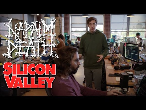 NAPALM DEATH on SILICON VALLEY!