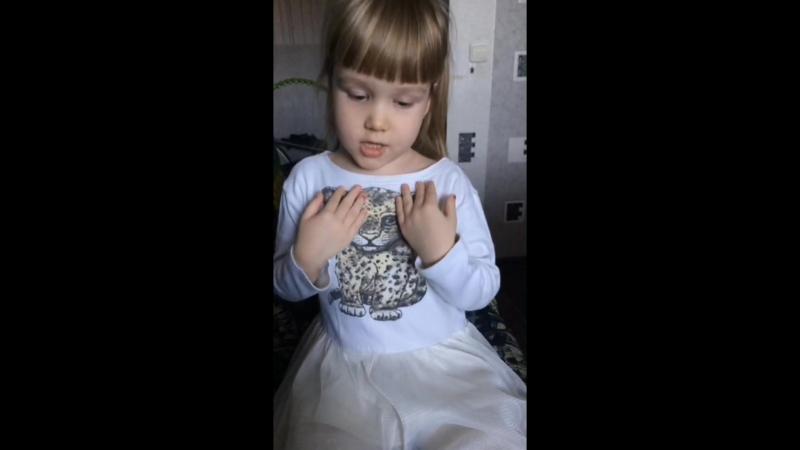 наша любимая маленькая певица