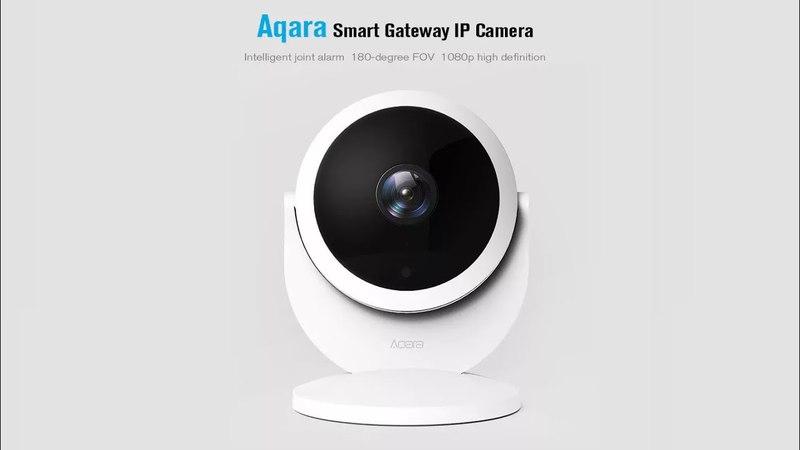 Aqara Smart IP Camera Gateway Security Monitor
