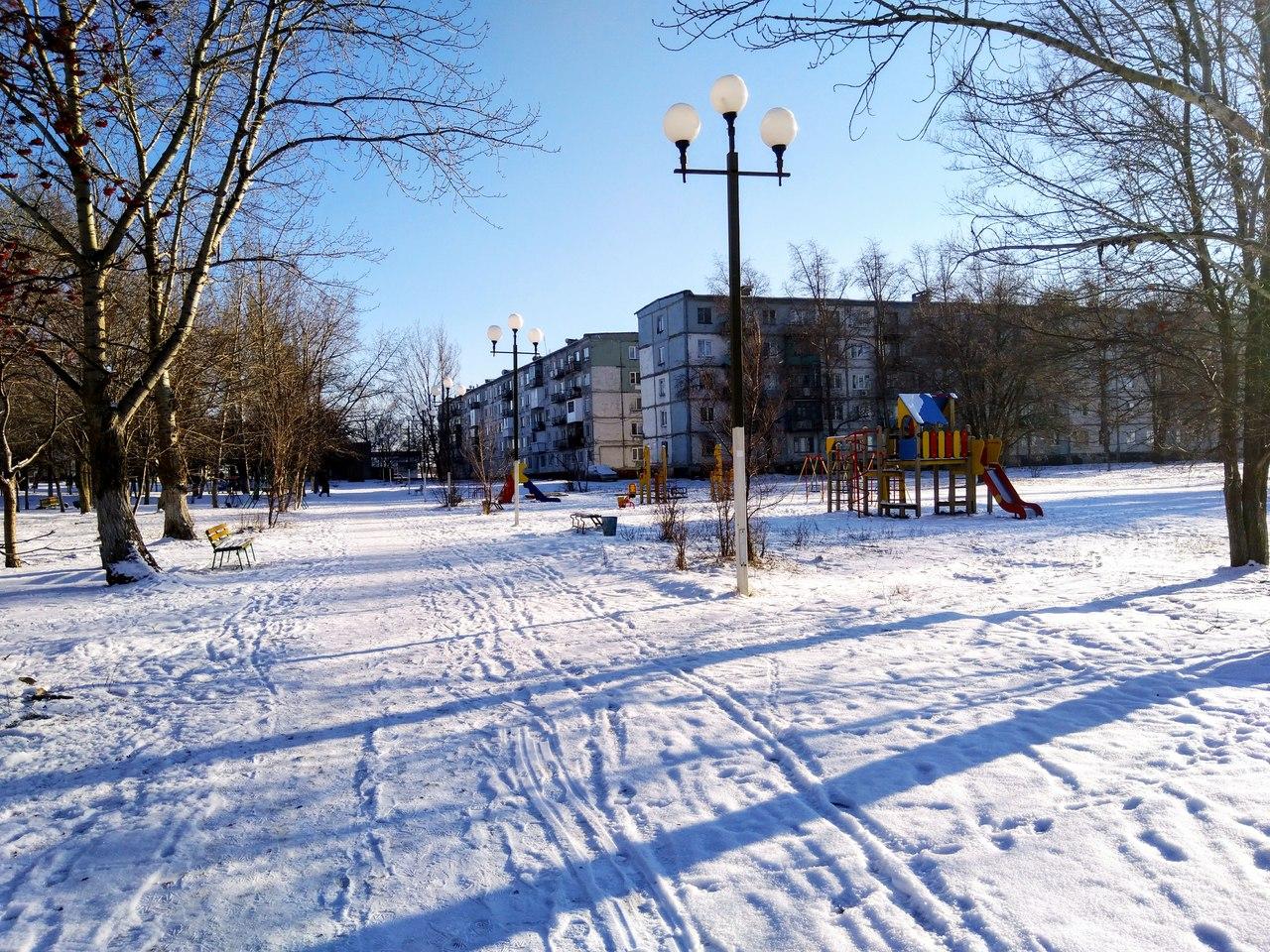 Сквер - г. Красноармейск 5 микрорайон