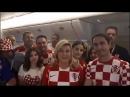 Президент Хорватии Колинда Грабар-Китарович на русском языке поблагодарила Россию за сердечный прием.