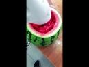 Как правильно есть арбуз