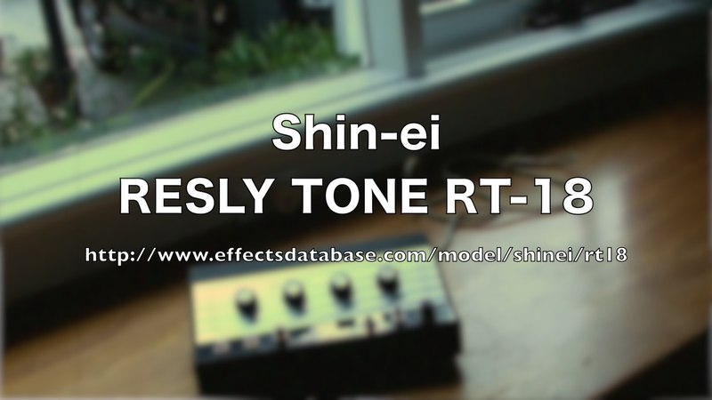 Shin-ei RESLY TONE RT-18 - Demo