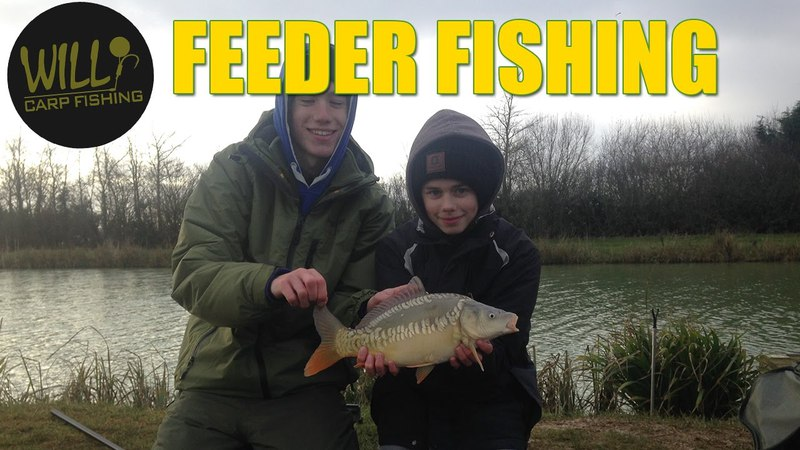 Winter Method Feeder Fishing 2017 with Carl and Alex Fishing