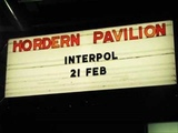 Interpol - Pace Is The Trick Live @ Hordern Pavillion, Sydney