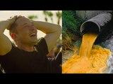Слив канализации на дорогу в наукограде!