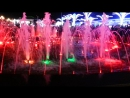 Египет. Шарм- ель-Шейх. Soho. Цветомузыкальный фонтан. 15 января 2018 г.