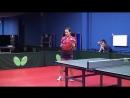 Уроки настольного тенниса на Новой Риге. Урок 3