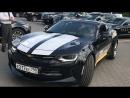 Черный сумрак... Chevrolet Comaro.