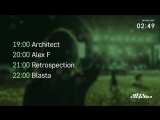 Architect and Alex F / Retrospection and Blasta - Live @ Integration / Resense (01.08.2018)